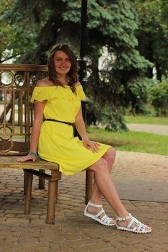 Ірина в сонячній сукні #хочувжурнал | BurdaStyle.ua: Мода, Дизайн, Рукоділля, Викрійки