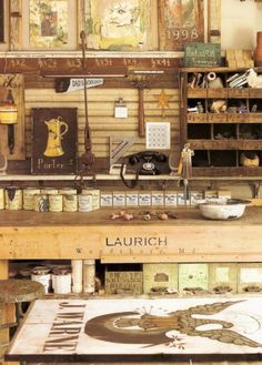 Совершенный хаос: интерьеры мастерских и арт-студий - Ярмарка Мастеров - ручная работа, handmade