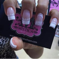Delicado frances Ongles Gel French, French Nails, Manicure And Pedicure, Cute Nails, Nail Art Designs, Makeup, Beauty, Nail Design, Nail Art