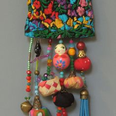Ecofriendln messicana gioielli gioielli etnici Vintage di ATLIART