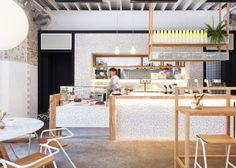 Bar e sala da tè biologico a Sydney by Matt Woods Design   Dd Arc Art
