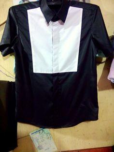 Shirt black & white By abimanyu