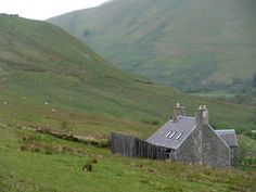 Exterior 03. Ackling Cook Bothy, by Reiach and Hall Architects. Ettrick Valley, Scotland. #exterior