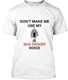 Bus drivers tshirt | Teespring