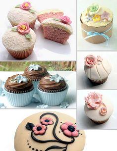 Sugar Bloom Cupcakes