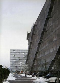 Kazuyo Sejima - Gifu Kitagata apartment building, Gifu 2000