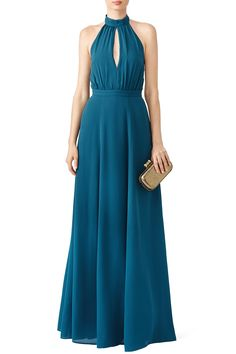 Rent Halter Starlet Gown by Yumi Kim for $70 only at Rent the Runway.