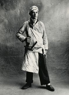 Irving Penn: Boucher, Paris, 1950 Irving Penn Small Trades