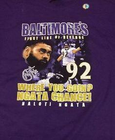 NEW Men's Gildan  Haloti Ngata Baltimore Ravens #92 Purple Tshirt 2XL  NWT NFL    eBay