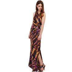 Bqueen One Shoulder Long Colorful Stripe Dress Dress, Bqueen One Shoulder Long Colorful Stripe, Chic One Shoulder, Shoulder Dress, Karen Millen, Striped Dress, Summertime, Wrap Dress, Fashion Dresses, Slim, Colorful