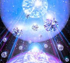 ♡ Star Diamonds of Love Blessing our Beloved Planet Earth ♡