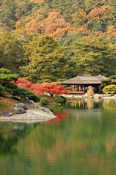 高松の紅葉:栗林公園の秋 - オックスフォード便り
