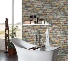 AS Creation Authentic Walls Non Woven Dimensions: x € Graffiti Designs, Walls, Wallpapers, Environment, Natural Living, Rustic, Stones, Grey, Timber Wood
