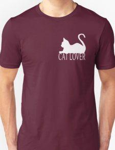 Cat Lover ... White T-Shirt