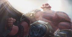 League of Legends: New Champion Braum Revealed