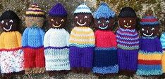 Ravelry: Duduza (Comfort) Doll (Knit) pattern by Jada Coyne Knitting For Charity, Knitting For Kids, Loom Knitting, Free Knitting, Knitting Projects, Crochet Art, Crochet Toys, Knitted Dolls, Knitted Hats