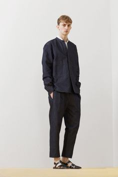Christophe Lemaire Spring 2014 Menswear Collection Slideshow on Style.com