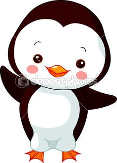 pingüino — Ilustración