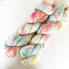 Fairies Rainbow. Delicate pastels on a soft springy yarn. Just what's needed mid week... Keep going!