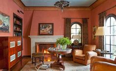 Tour a Classic 1920's Spanish Colonial-Style Home in Beverly Hills