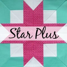 Star Plus quilt block