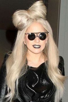 No one does hair quite like Lady Gaga