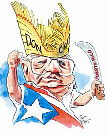 Caricature of Don Cholito (José Miguel Agrelot) RIP    http://www.prpop.org/biografias/j_bios/jose_miguel_agrelot.shtml