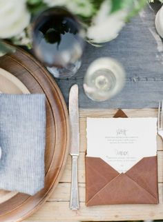 Rustic Luxe Brown Leather Wedding Inspiration! see more at http://www.wantthatwedding.co.uk/2015/03/29/rustic-luxe-brown-leather-wedding-inspiration/