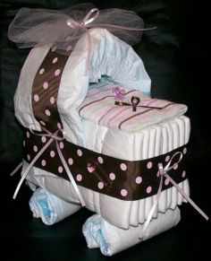 Baby shower Diaper gift...