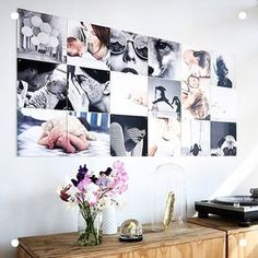 Design your own IXXI collage with your favorite pictures and precious moments. Share your creativity with us by using Have a lovely weekend. My Living Room, Home And Living, Room Inspiration, Interior Inspiration, Photowall Ideas, Family Pictures On Wall, Ideas Prácticas, Decor Ideas, Diy Crafts For Girls