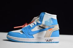 21962c2c247c32 Air Jordan 1 x Off-White UNC AQ0818-148  KindSneaker  Fashion   · Nike  ShoesSneakers ...