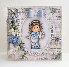 A Sprinkling of Glitter: Little Cupcakes & Tilda With Heart Phone - Simon Says Stamp DT