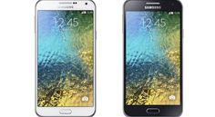 هاتفين محمولين جديدين من سامسونج Galaxy E7 و Galaxy E6 لعشاق التصوير السيلفي بكاميرا امامية 5 ميجابيكسل. هذا ماتم الكشف عنه من قبل سامسونج خلال فعاليات معرض CES . الهاتف الجديد Galaxy E7 نحيف نسبيا...