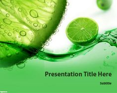 Citrus PowerPoint Template   Free Powerpoint Templates