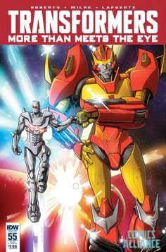 More Than Meets the Eye #55 ROM Cover and Details - Transformers: DECEPTICON JUSTICE DIVISION!