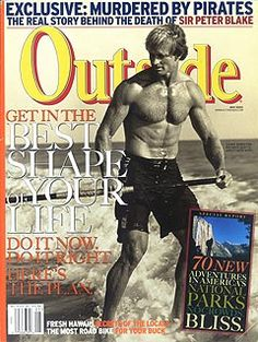 Outside Magazine, May 2002 Table of Contents Outside Magazine, Peter Blake, Contents, The Outsiders, The Past, Cover, Table, Mesas, Blankets
