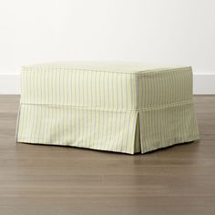 Slipcover Only for Harborside Glider Ottoman - Crate and Barrel