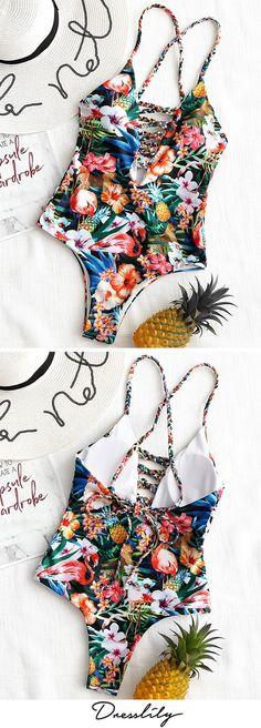 Buy New Swimwear,Shop the Latest Womens Bathing Suits, Swimsuits, & Bikinis Online at Dresslily.com. FREE SHIPPING WORLDWIDE!#swimwear#swimsuit#onepieceswimsuit