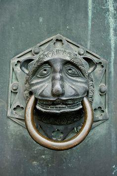 Door Knocker at Trier Dom, Germany