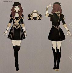 Edelgard Concept Art