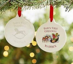 The Baby's First (reindeer) ornament I want that's no longer available! #pbkids