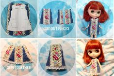 Hey there folks,  there are loads of free blythe pattern links all over the internet, so over the course of this blog i'm going to (hopefull...