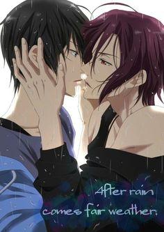 Free! Rin and Haru