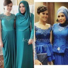 By anggi asmara Prom Dresses, Formal Dresses, Wedding Dresses, Hijab Bride, Kebaya, Hijab Fashion, Beautiful Dresses, Lace Dress, Gowns