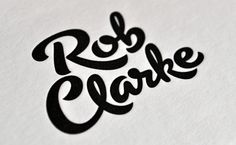 logo by Rob Clarke...great lettering
