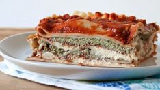 Lasagna With Cashew Crema and Pesto