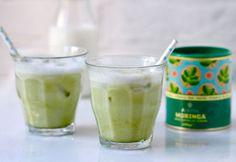 Moringa Iced Latte