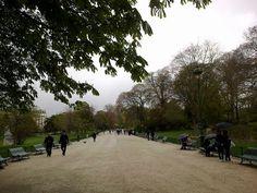 De Courcelles au parc Monceau allée comtesse de segur parc monceau