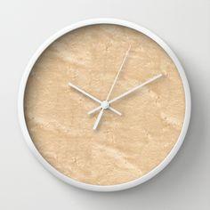 Birdseye Maple Wood Wall Clock