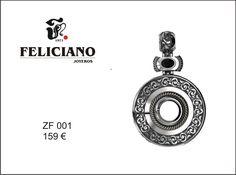 Hola Feliciamig@s. Feliciano joyeros os presenta la #colección #atracción Este #colgante de plata tiene multitud de combinaciones, haciéndolo de esta manera diferente cada vez que cambiemos su pieza central. Animaros es precioso. Buen día.